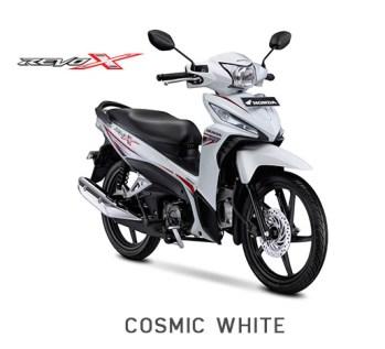 Honda Revo X 2018 Cosmic Whita aka putih