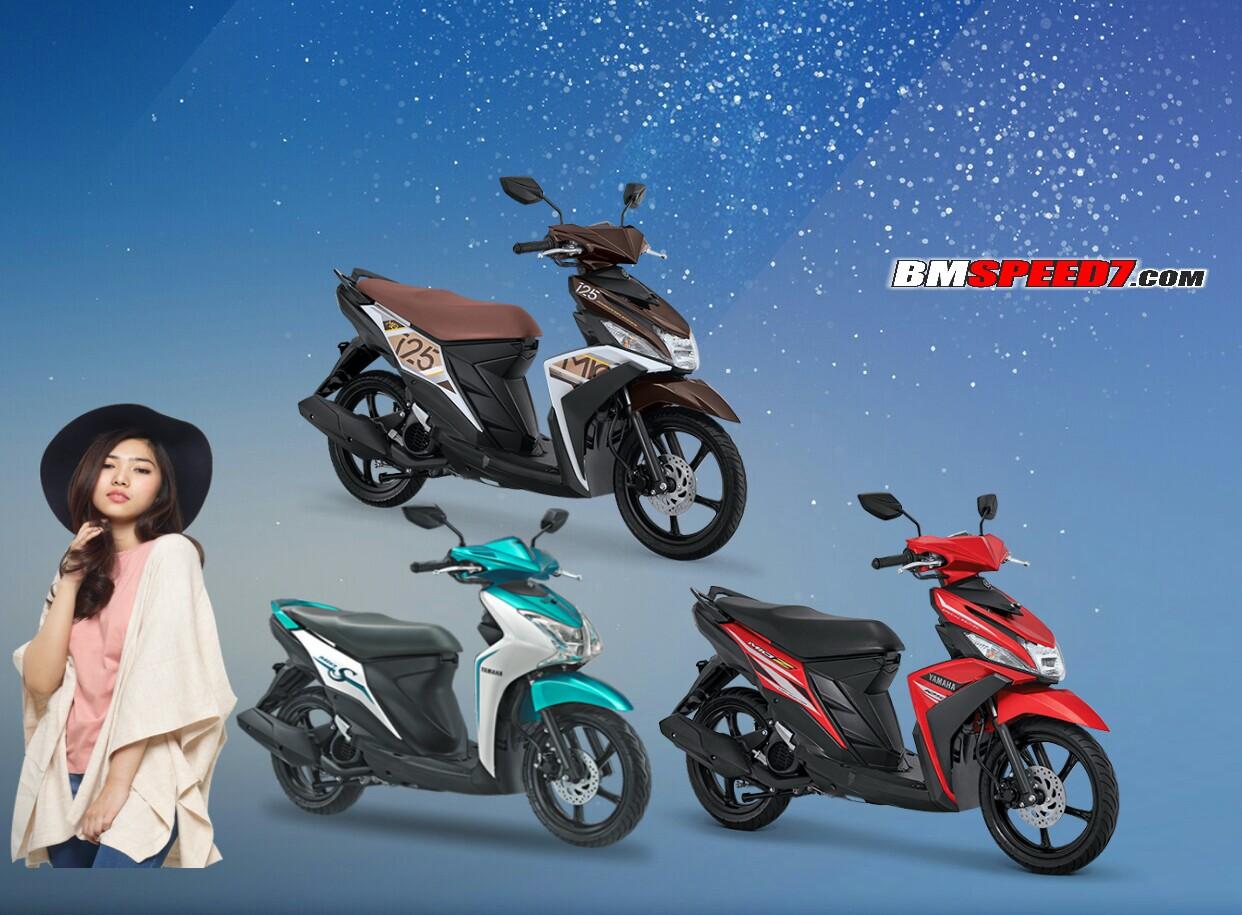 Perbedaan Yamaha Mio S Mio Z Dan Mio M3 Aks Sss 125cc