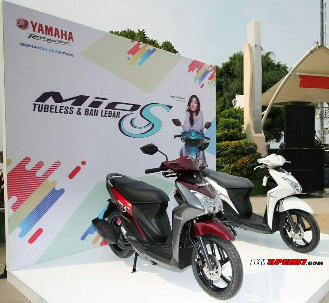 Foto 4 Warna Yamaha Mio S 125 2018 Terbaru, Ada warna Hijau, Merah, Hitam dan Putih! » BMSPEED7.COM