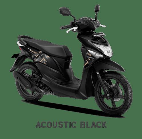 Warna Baru Honda BeAT Pop 2018 Hitam