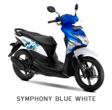 Warna Baru Honda BeAT Pop 2018 Biru-Putih
