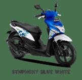 Warna Baru Honda BeAT Pop 2018 Biru-Putih