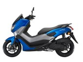 NMAX 155 Facelift 2018 Blue Side View