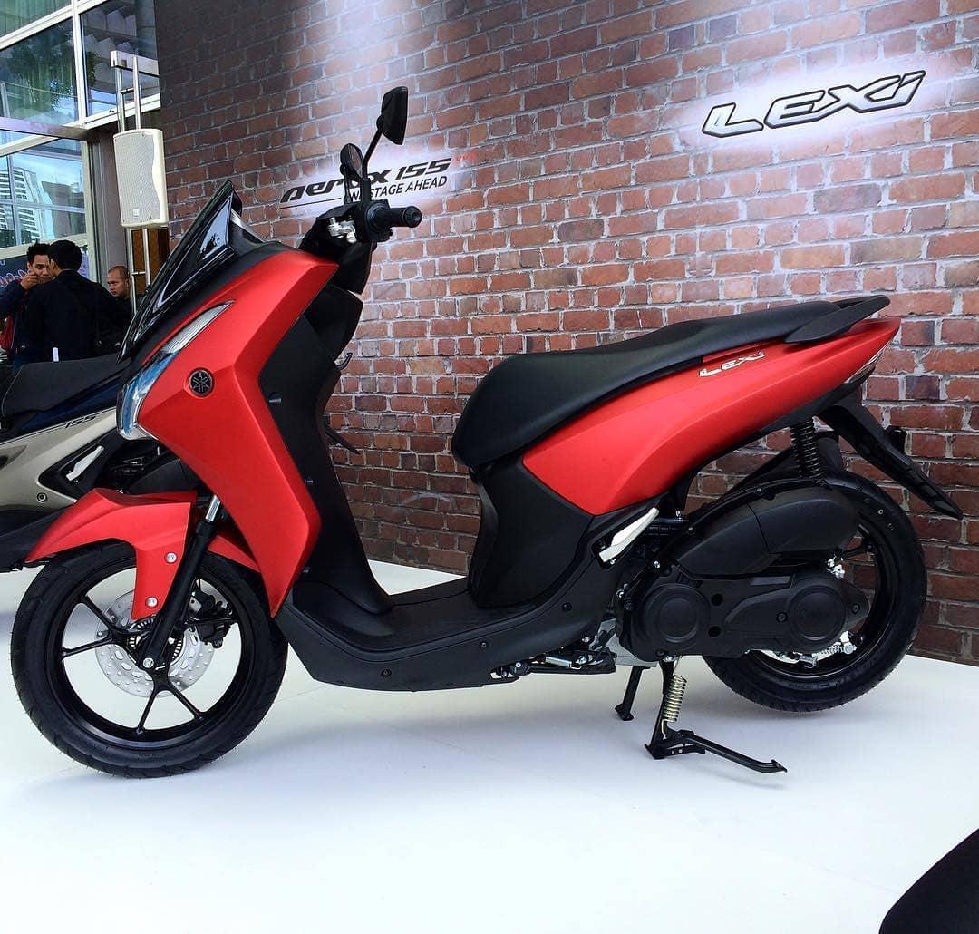 Yamaha-Lexi-125-2018-Matte-Red-bmspeed7.com_