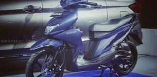 Suzuki Nex II Matte Bue