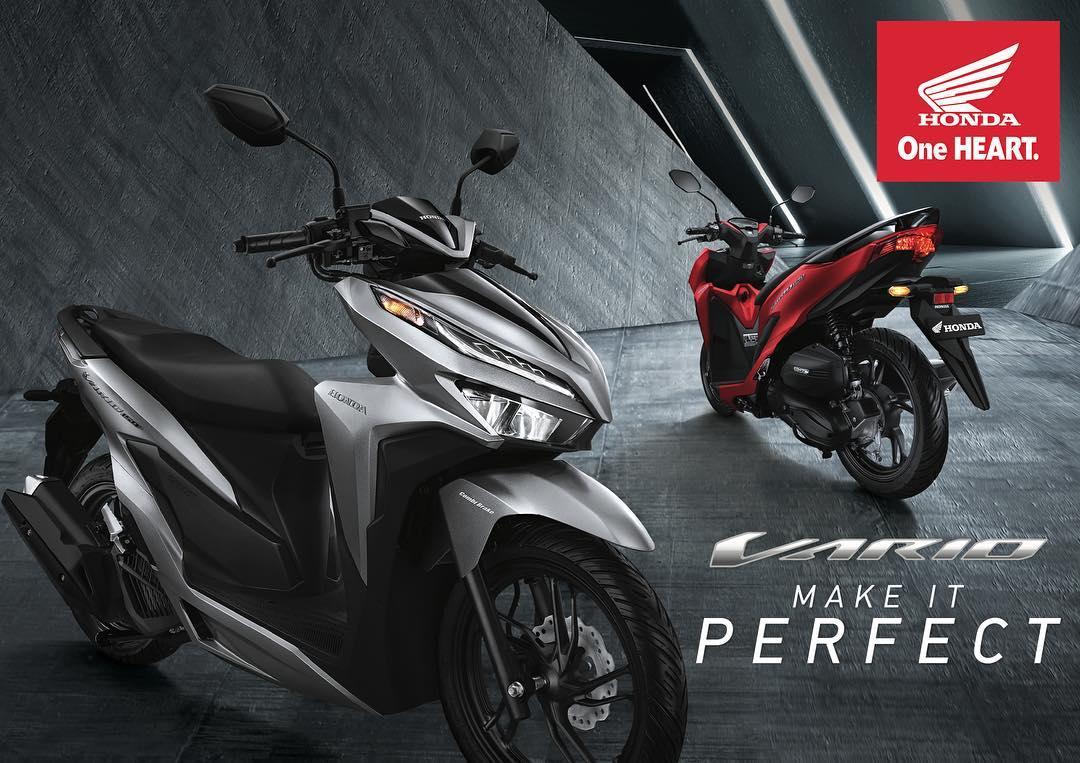 Download 70 Modif Vario 150 Black Matte Terbaru Sodo Modifikasi All New Esp Exclusive Boyolali 4 Warna Honda 2018 Cbs Iss Harga Spesifikasi Dan