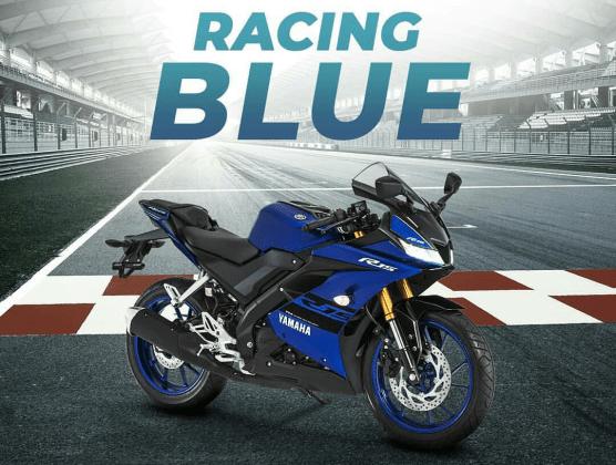 Yamaha R15 2018 Racing Blue