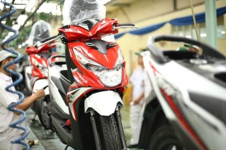 Ekspor Honda BeAT di Pasar Asia