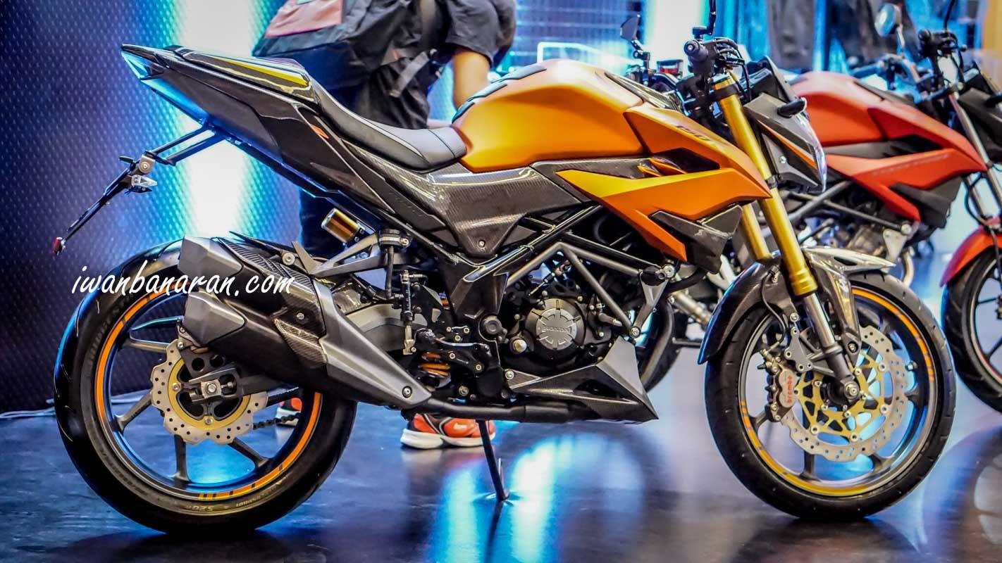 Modifikasi Honda CB150R 2018 Kaki Kaki CBR250RR 7