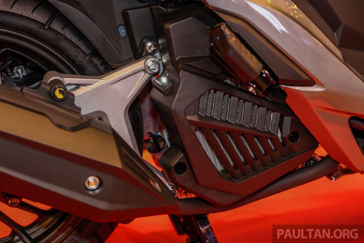 Cover Radiator Vario 150