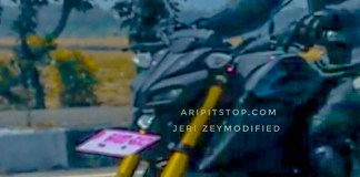 Spyshots Yamaha MT15