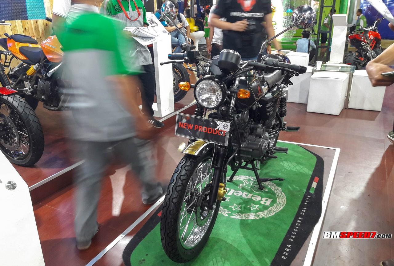 Benelli Motobi 152 2018
