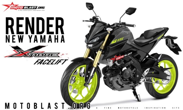 Yamaha Xabre/ MT15 2019