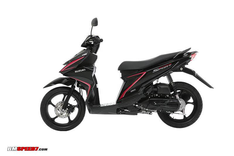 Suzuki SkyDrive Sport Black