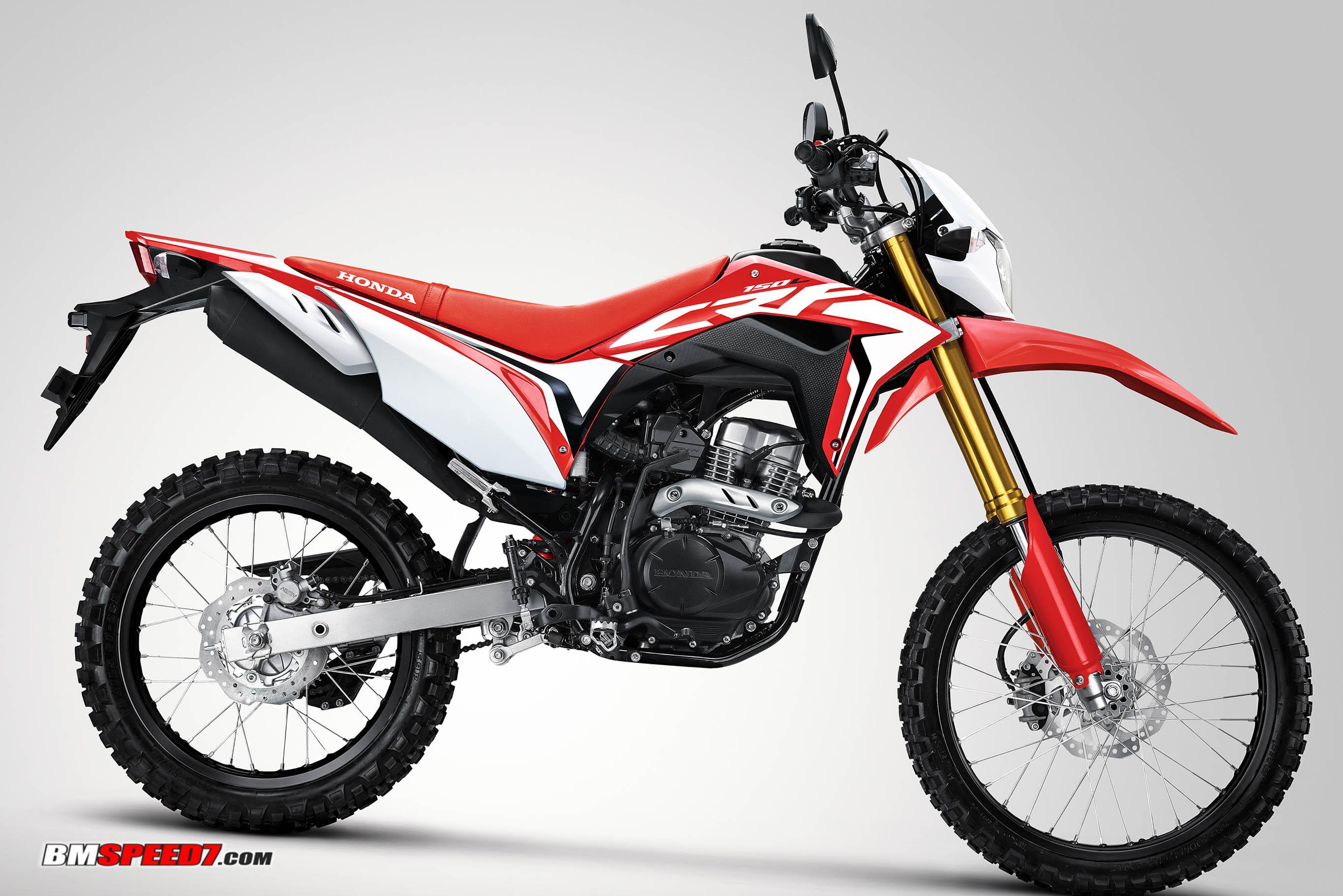 Honda CRF150L Merah