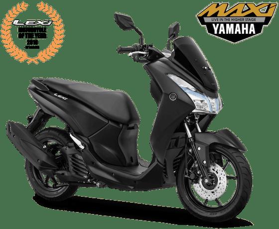 Yamaha Lexi 2018 Hitam