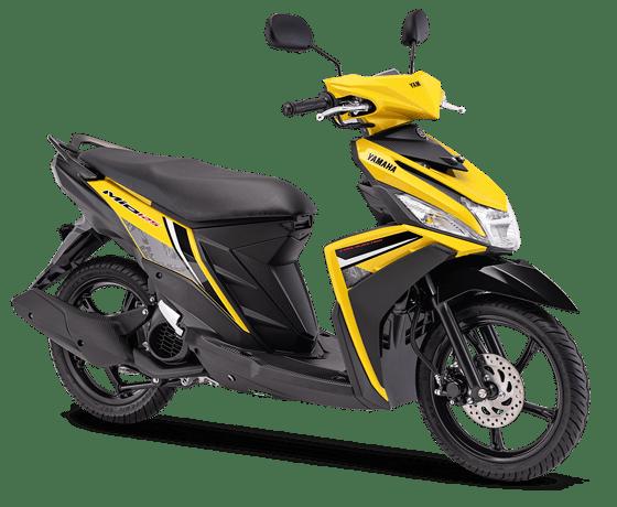 Yamaha Mio M3 Yellow