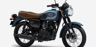 Kawasaki W175 Blue