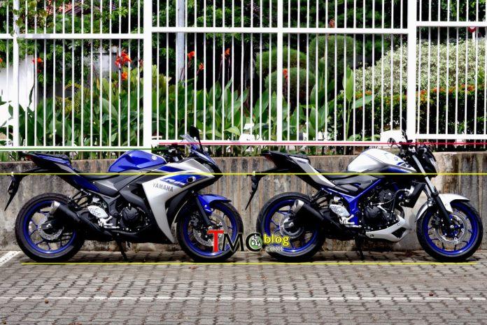 Yamaha R25 VS MT-25