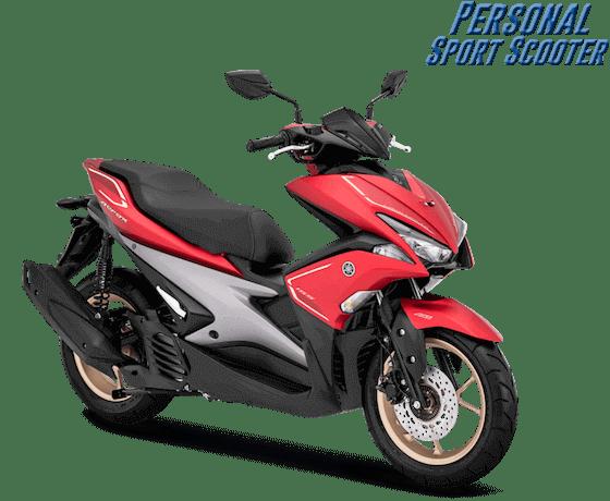 Yamaha Aerox 2019 Merah Doff