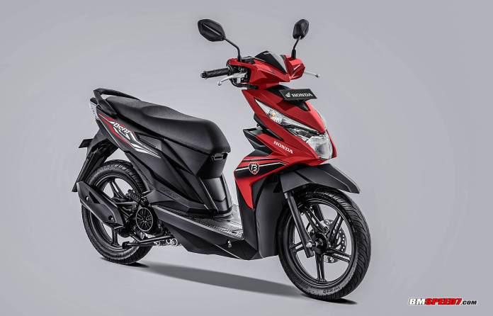 Honda BeAT 2019 CBS-ISS Merah Hitam