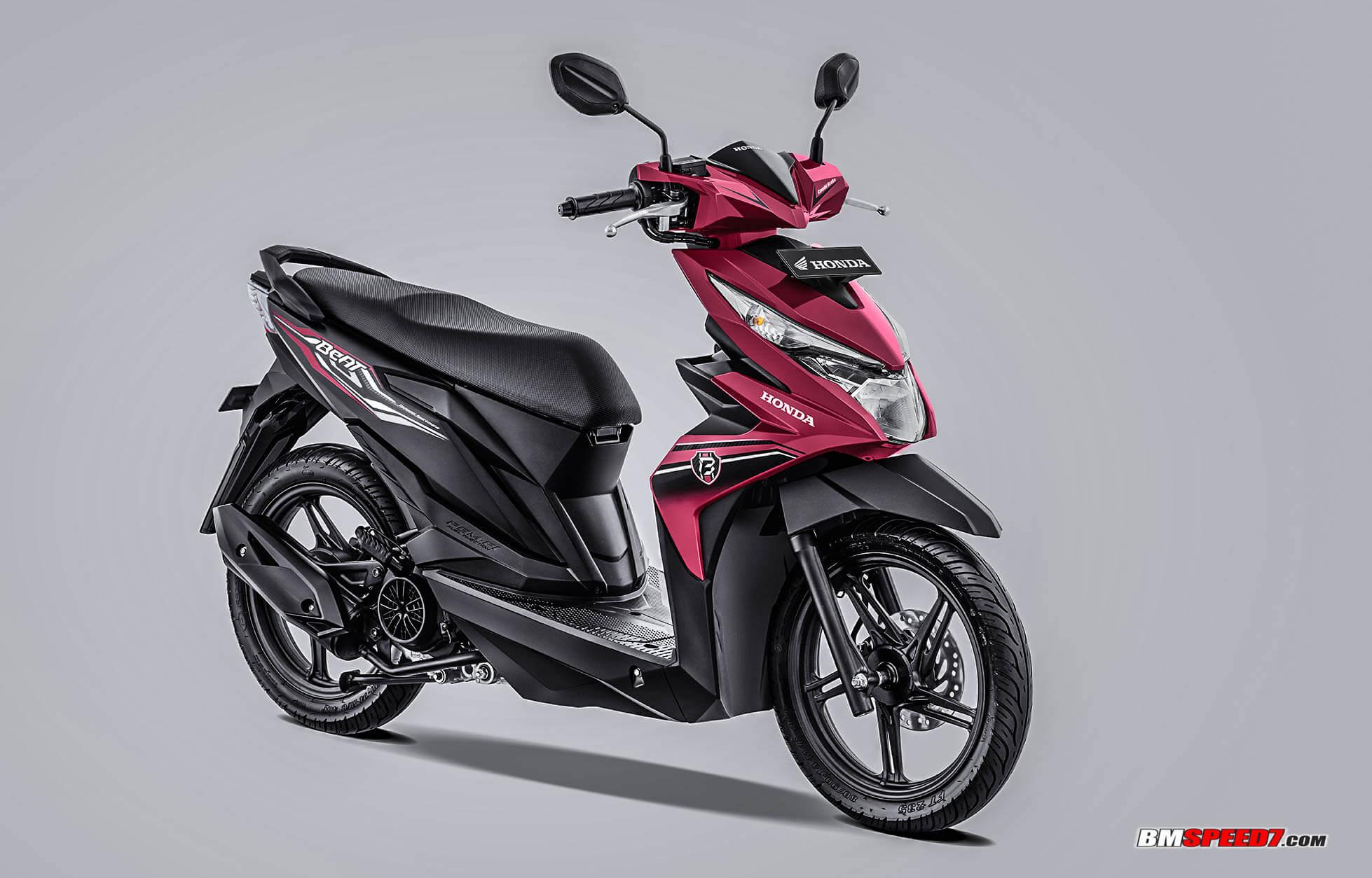 Honda BeAT 2019 CBS-ISS Warna Pink