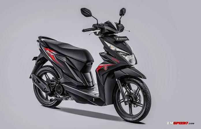 Honda BeAT 2019 CW Warna Hitam