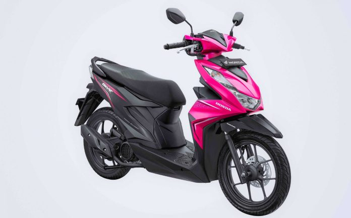 Warna Honda BeAT 2020 Pink