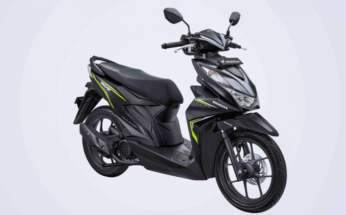 Warna Motor BeAT 2020 Hitam