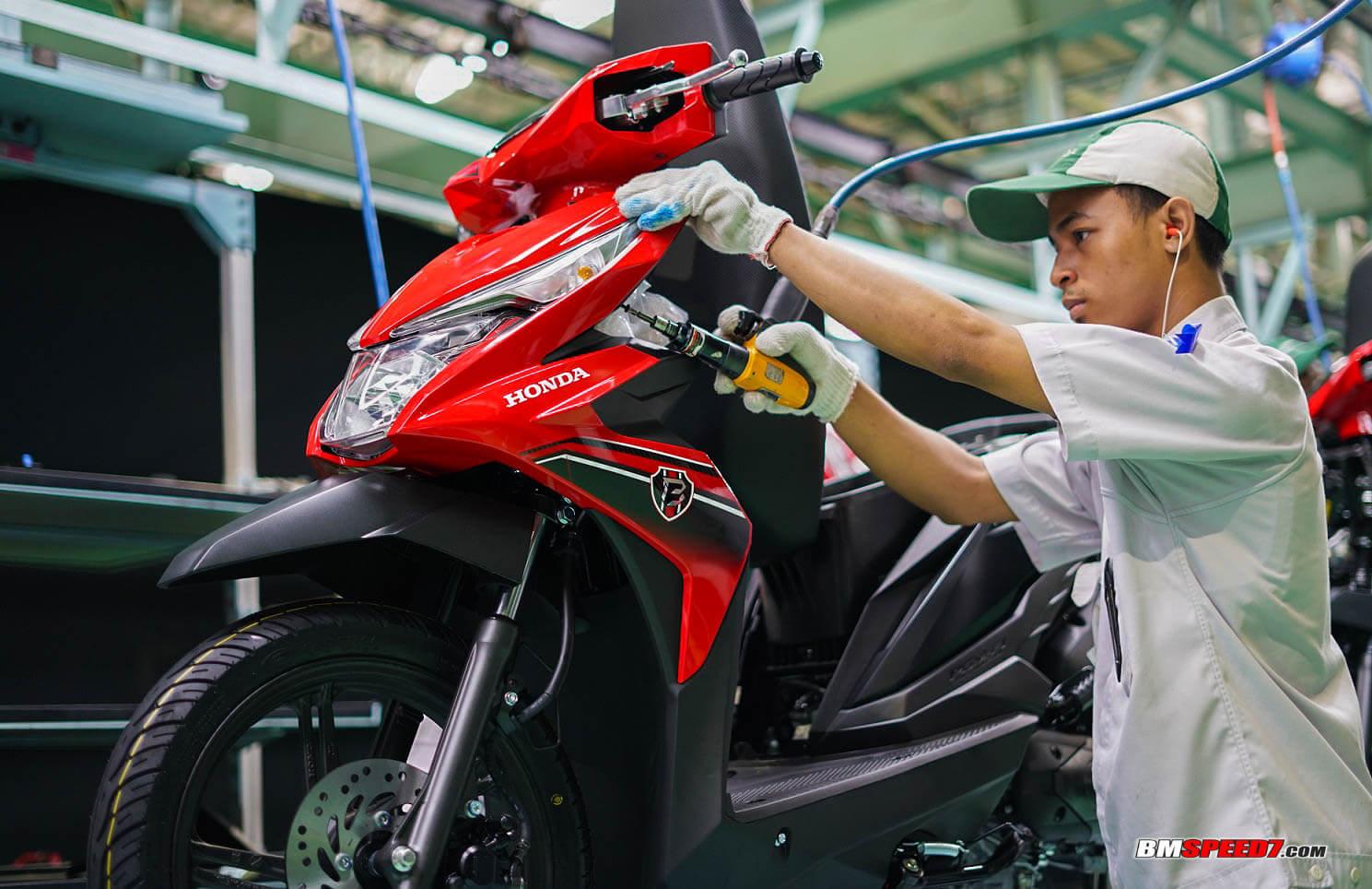 Semakin Laris Ahm Rilis Warna Baru Honda Beat 2019