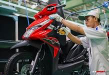 Perakitan Honda BeAT di Pabrik AHM