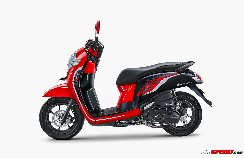 Honda Scoopy 2019 Sporty Merah