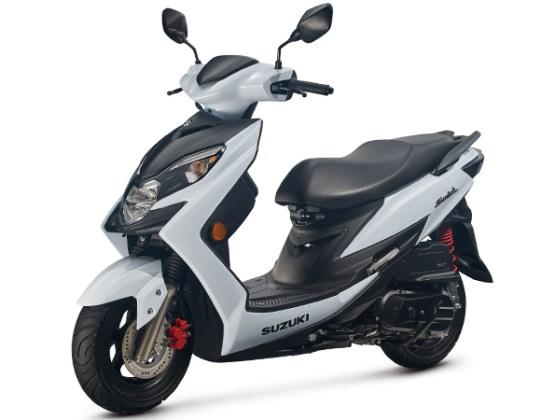 Suzuki Swish 2019 White