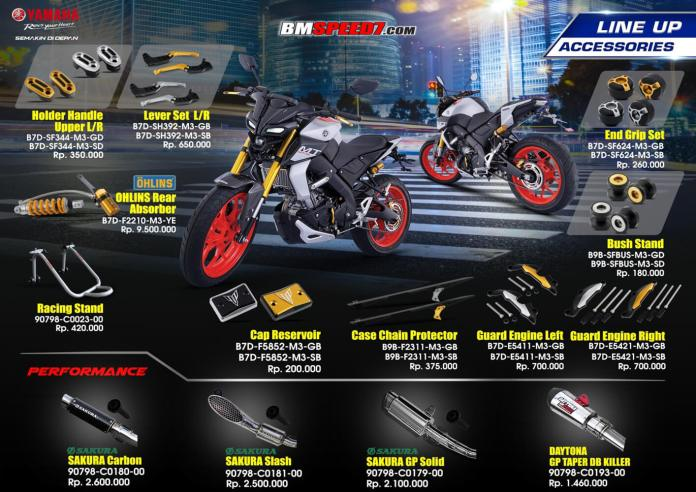 Aksesoris Yamaha MT-15