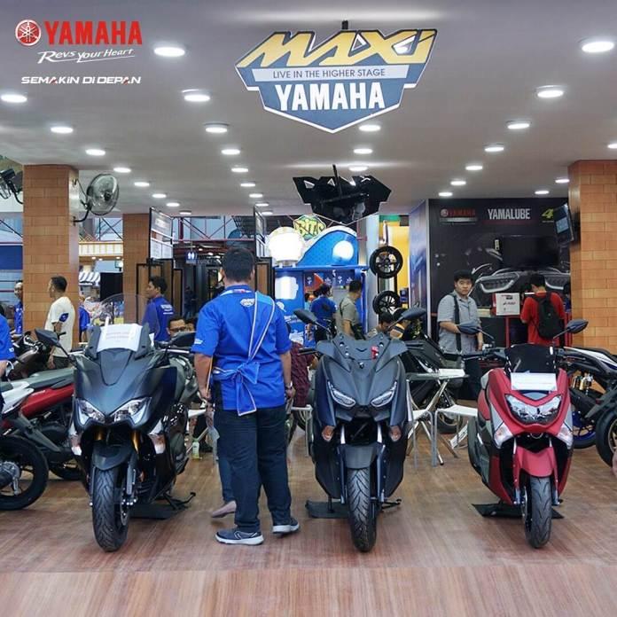 Maxi Scooter Yamaha PRJ 2019