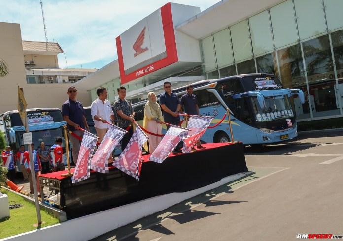 Balik Bareng Honda 2019 Astra Motor Jateng
