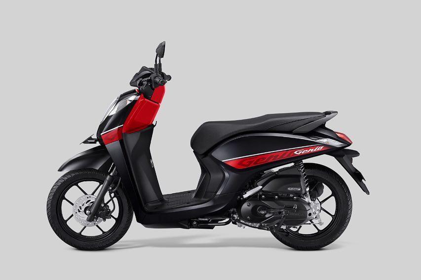 Honda Genio 2019 CBS Hitam Merah