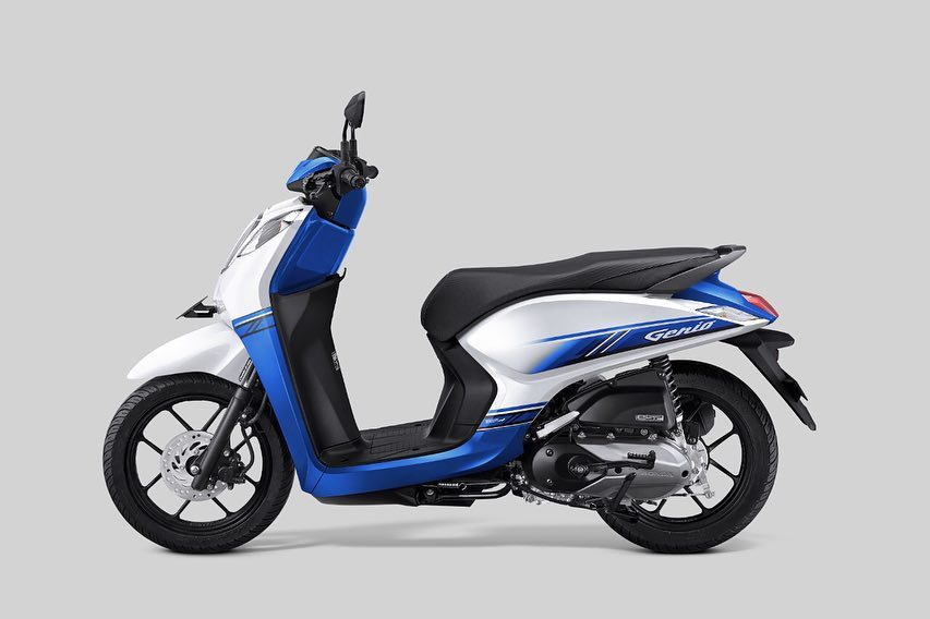 Honda Genio 2019 CBS-ISS Putih Biru