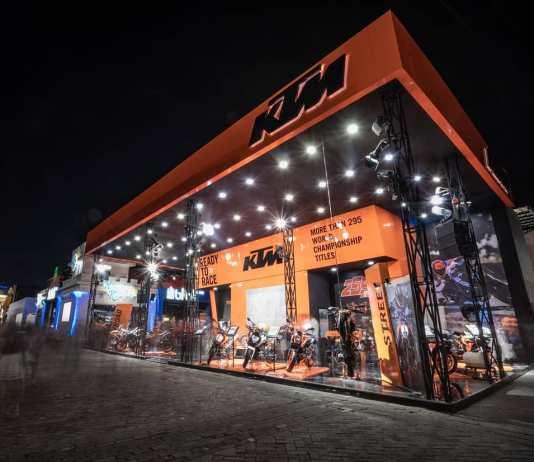 Booth KTM di PRJ 2019