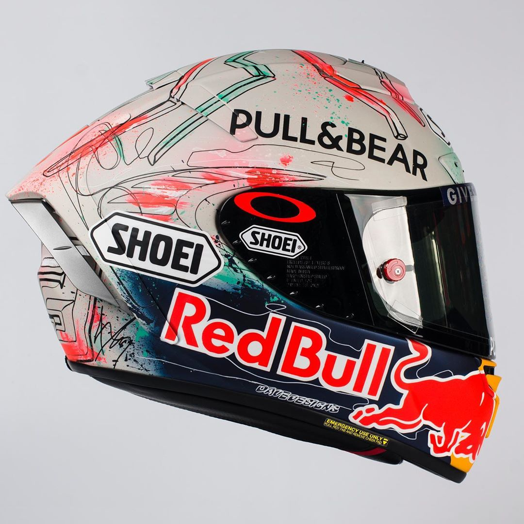 Shoei X-14 Marquez MotoGP 2019