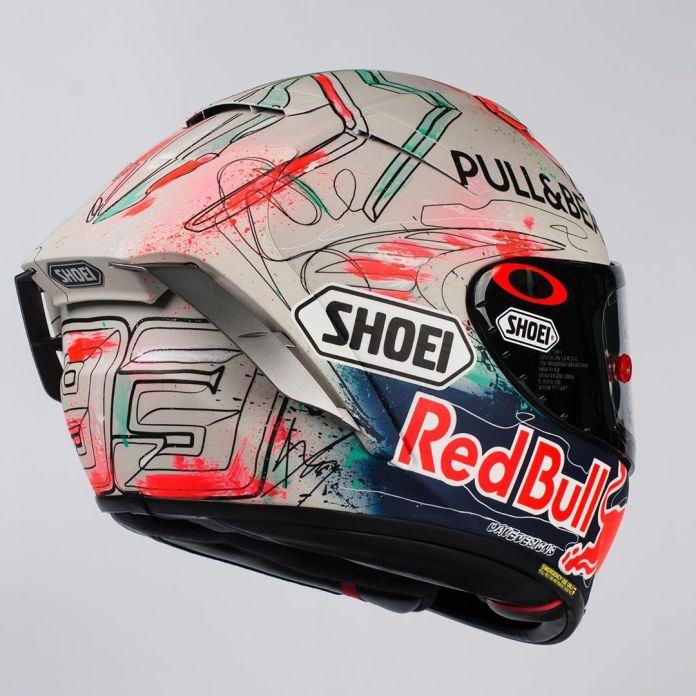 Shoei X-Fourteen Marquez Terbaru 2019