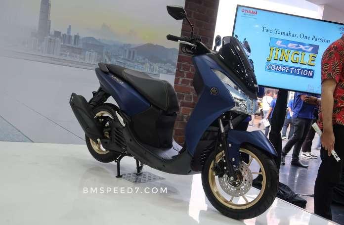Yamaha Lexi Matte Blue
