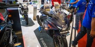 Harga Suzuki GSX-R150 Matte Blue