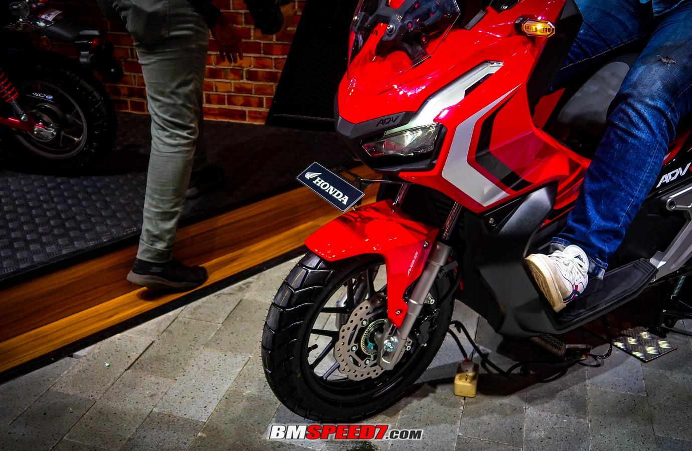 Honda ADV 150 Bisa Selonjoran