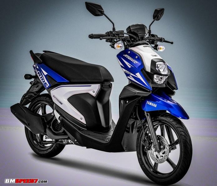 Yamaha X-Ride 2019 Biru