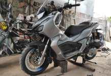 Modifikasi Honda ADV 150 Pakai Velg Jari Jari
