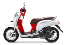 Honda Scoopy Stylish 2020 Merah Putih