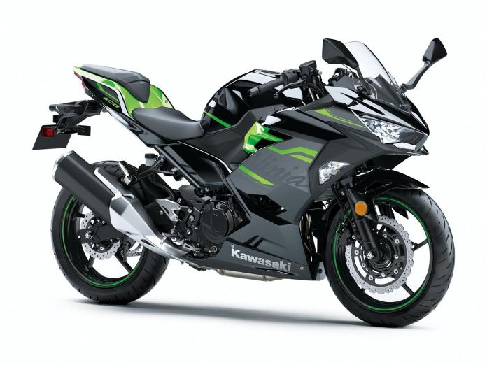 Kawasaki Ninja 400 2020 Metallic Spark Black / Lime Green
