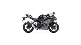 Kawasaki Ninja 400 2020 Metallic Spark Black – Metallic Matte Graphite Gray