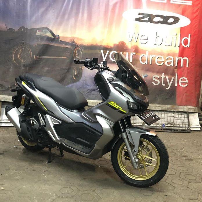 Repaint Velg Honda ADV 150